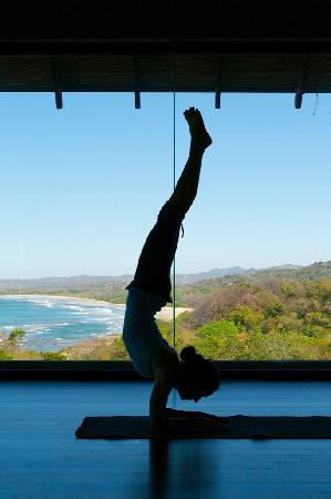 Blue Spirit: Sky Yoga Room - one view