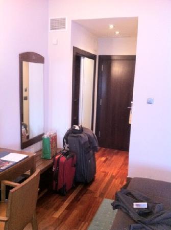 Hotel America Vigo: Pasillo