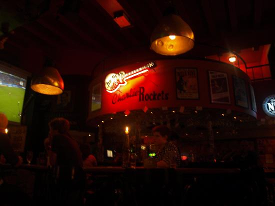 Charlie Rocket's: el bar