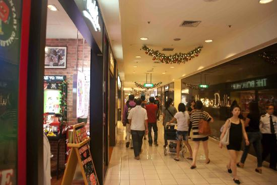 Walking the halls of Ngee Ann City