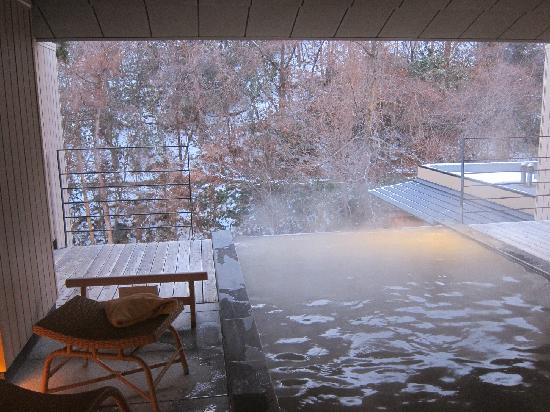 Takinoya: 5th floor Women's onsen (photography is not allowed but I couldn't resist-only when nobody was a