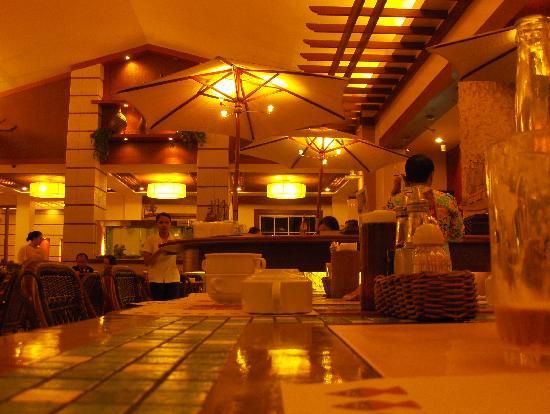 Classy interior picture of lighthouse restaurant cebu