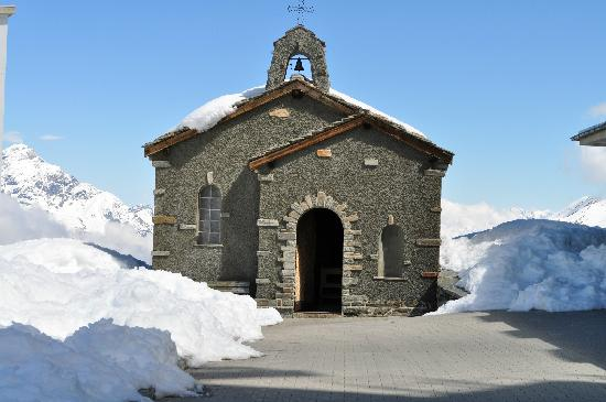 Mt. Gornergrat: The chapel atop Gornergrat