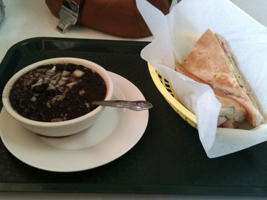 Vega's Cafe: Regular Cuban with a Side of Beans & Rice
