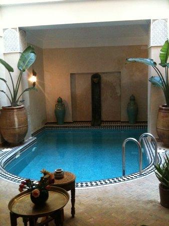 Dar Ourika: piscine pas très grande