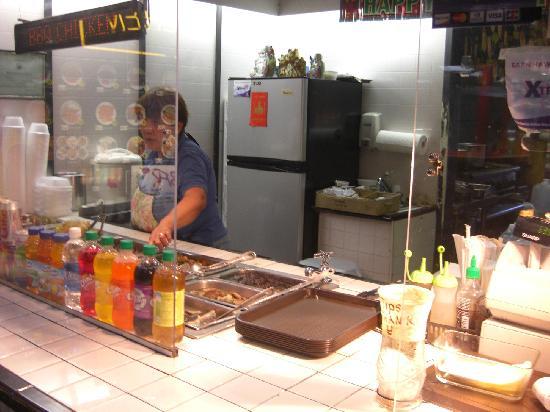 Choi's Kitchen: 店内