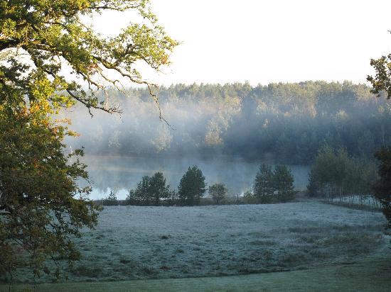 Le Mousseau : Un des superbes étangs de la propriété.