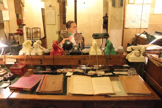Recreaci n de una de las habitaciones picture of churchill war rooms london tripadvisor - Churchill war cabinet rooms ...