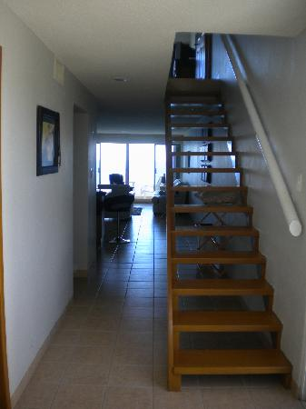 Miramar Condominiums Cozumel: As You Enter Condo #404