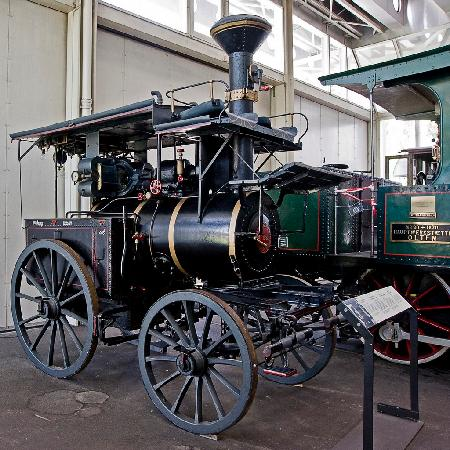 Swiss Museum of Transport: An old steam engine
