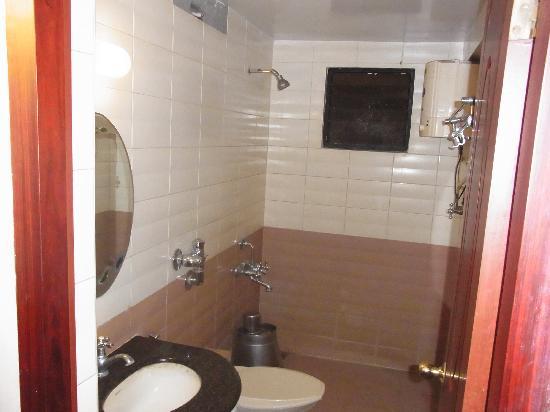 Krishna Park : 使い勝手の良いバスルームです