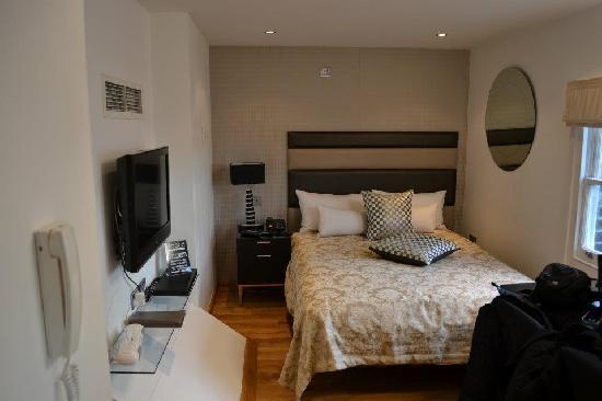 Space Apart Hotel: la zona letto