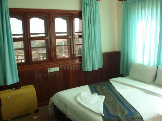 Siem Reap Garden Inn: Room with a view.