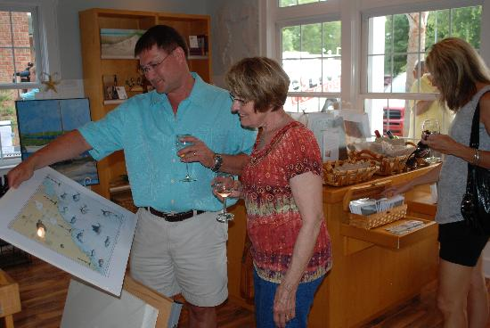 Uncorked by the Sea Wine Shop & Gallery : Sipping 'n Browsing!