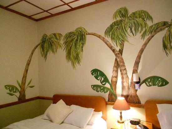 my room at the Adventure Inn