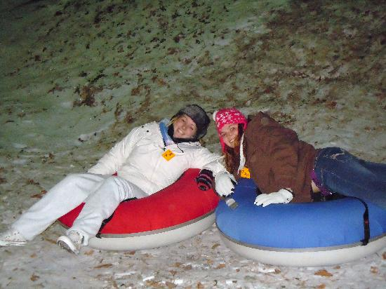 Jonas Ridge Snow Tubing: dress warm!