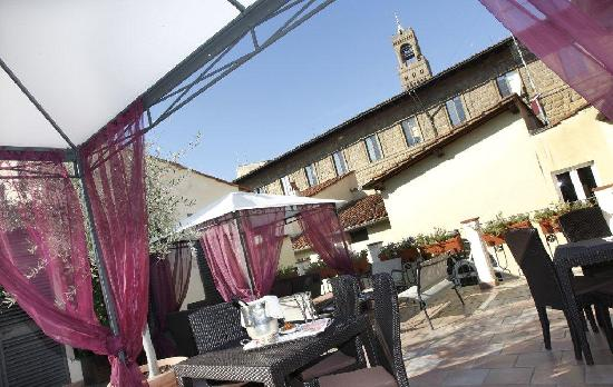 Bernini Palace Hotel: Terrace