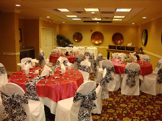 Holiday Inn Oceanfront At Surfside Beach Wedding Reception The