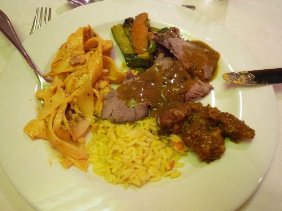 Summerstrand Hotel: Abendessen vom Buffett