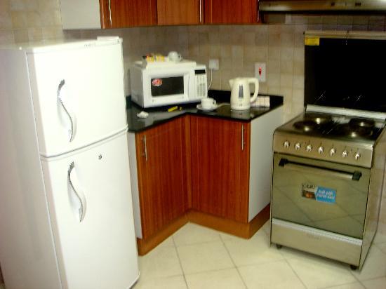 Winchester Hotel Apartments: Cozinha