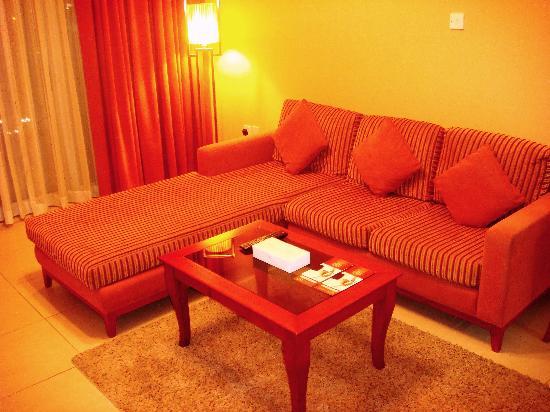 Winchester Hotel Apartments: Sala de jantar/estar