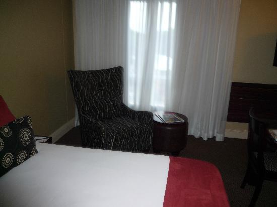 The Riverside Hotel: Sessel im Zimmer