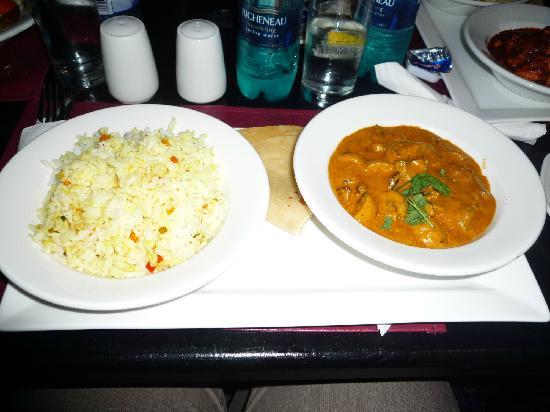 The Riverside Hotel : Indisches Abendessen im Hotel