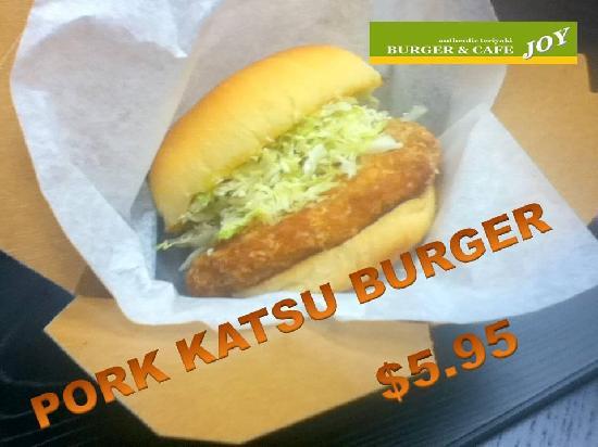 Burger and Cafe Joy : Great Pork Burger!