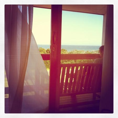 Amanda's B&B: view from bed