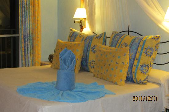Melia Cayo Santa Maria: King size bed all to myself