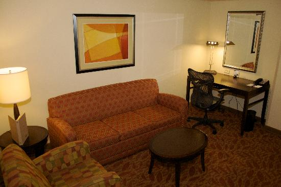 Hilton Garden Inn Augusta : Suite Room Sitting Area
