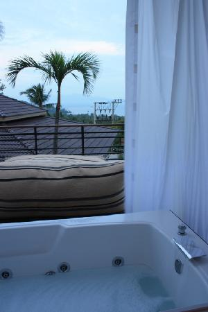 Mantra Samui Resort: Views from LOVE room