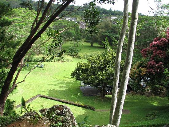 Lawai International Center : view from the walk