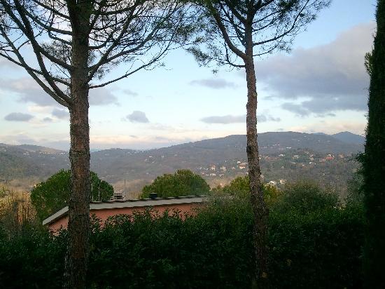 Villa Nuba Charming Apartments: il panorma dal balcone