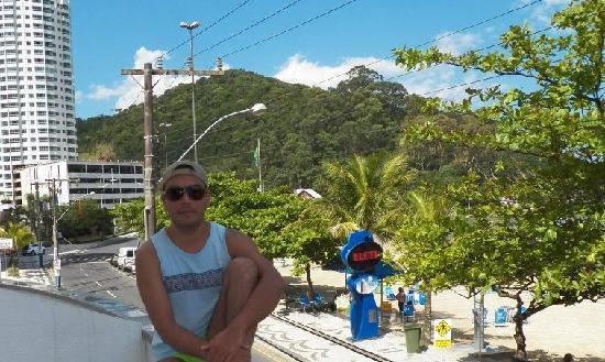 Balneario Camboriu, SC: en la terraza del hotel