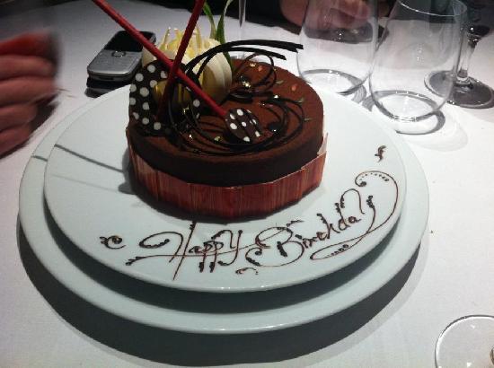 Astounding Birthday Cake Picture Of The Fat Duck Bray On Thames Tripadvisor Funny Birthday Cards Online Necthendildamsfinfo