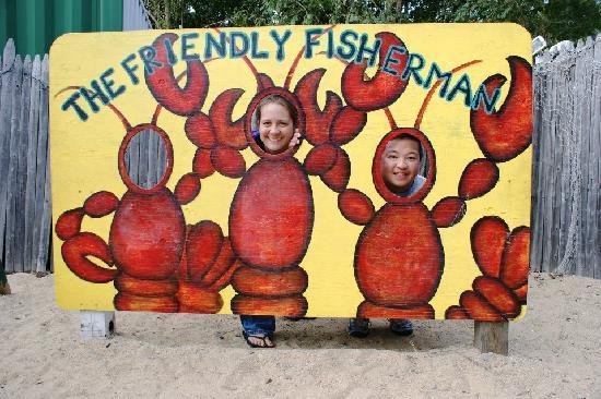 Friendly Fisherman's : Photo Op!