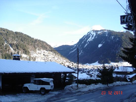 Chalet Hotel StarLight: view from the hotel garden