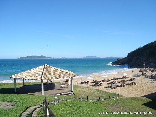 บูซิออส: praia das Caravelas