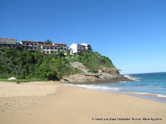 Caravelas Beach: praia das Caravelas y Hotel Apa Pau
