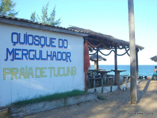 บูซิออส: Parador Quiosque do Mergulhador, en Tucuns