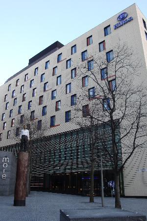 Hotel from outside square