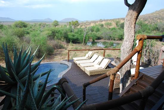 Impodimo Game Lodge: Family suite