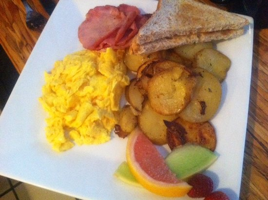 Ciao-Thyme Bistro : Cooked to order breakfast - $14