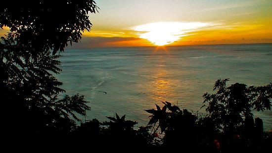 Fond Doux Plantation & Resort: sunset