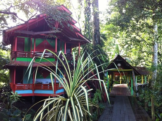 Cocles, Costa Rica: Cabins at Yare Hotel