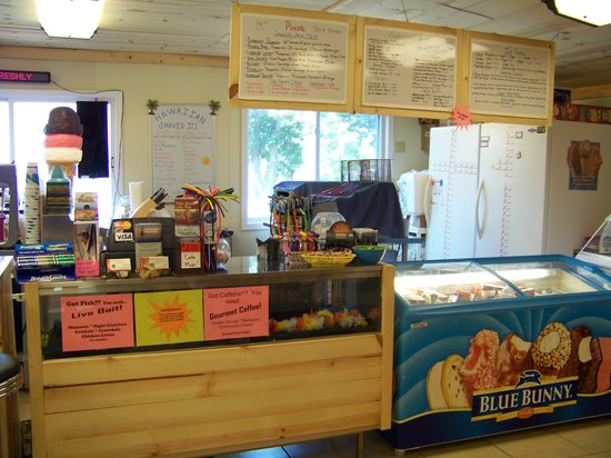 Lakeside Restaurant & General Store: Order your favorite Food & Ice Cream here.YUM