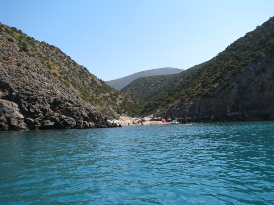 Buggerru, Italia: Spiaggia Cala Domestica