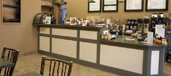 North Country Coffee Cafe : Inside cafe