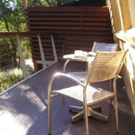 Warrandyte Goldfields Bed & Breakfast: Private Balcony